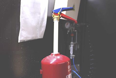 Extintores Abertos