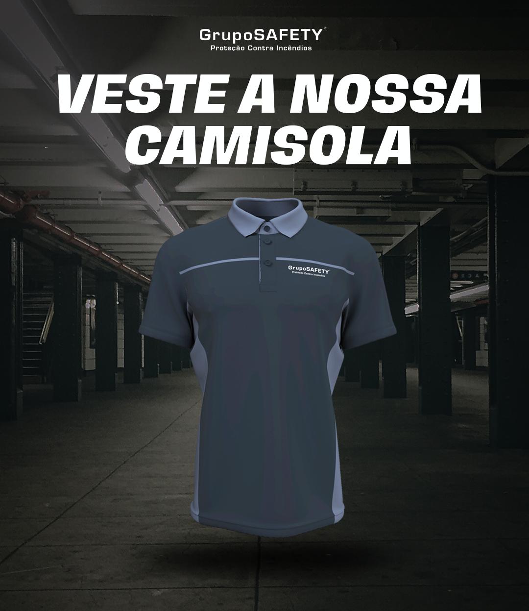 VESTE A NOSSA CAMISOLA