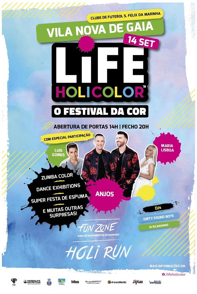Life Holi Color - Vila Nova de Gaia