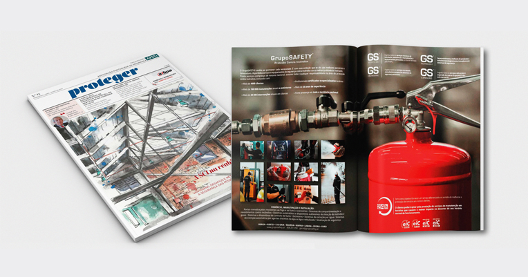 GrupoSAFETY® presente na Revista Proteger