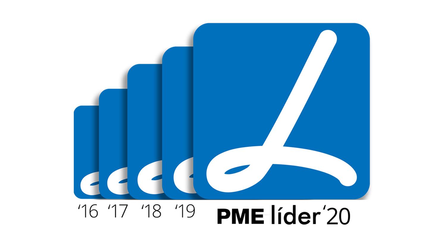 <b>PME Líder 2020</b> - 5º Ano Consecutivo!