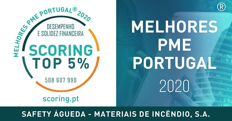 <b>Top 5%</b> - Melhores PME 2020