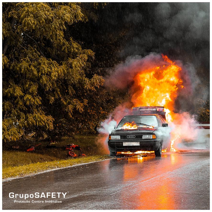 <b>Incêndio em Veículos</b> - Principais Causas