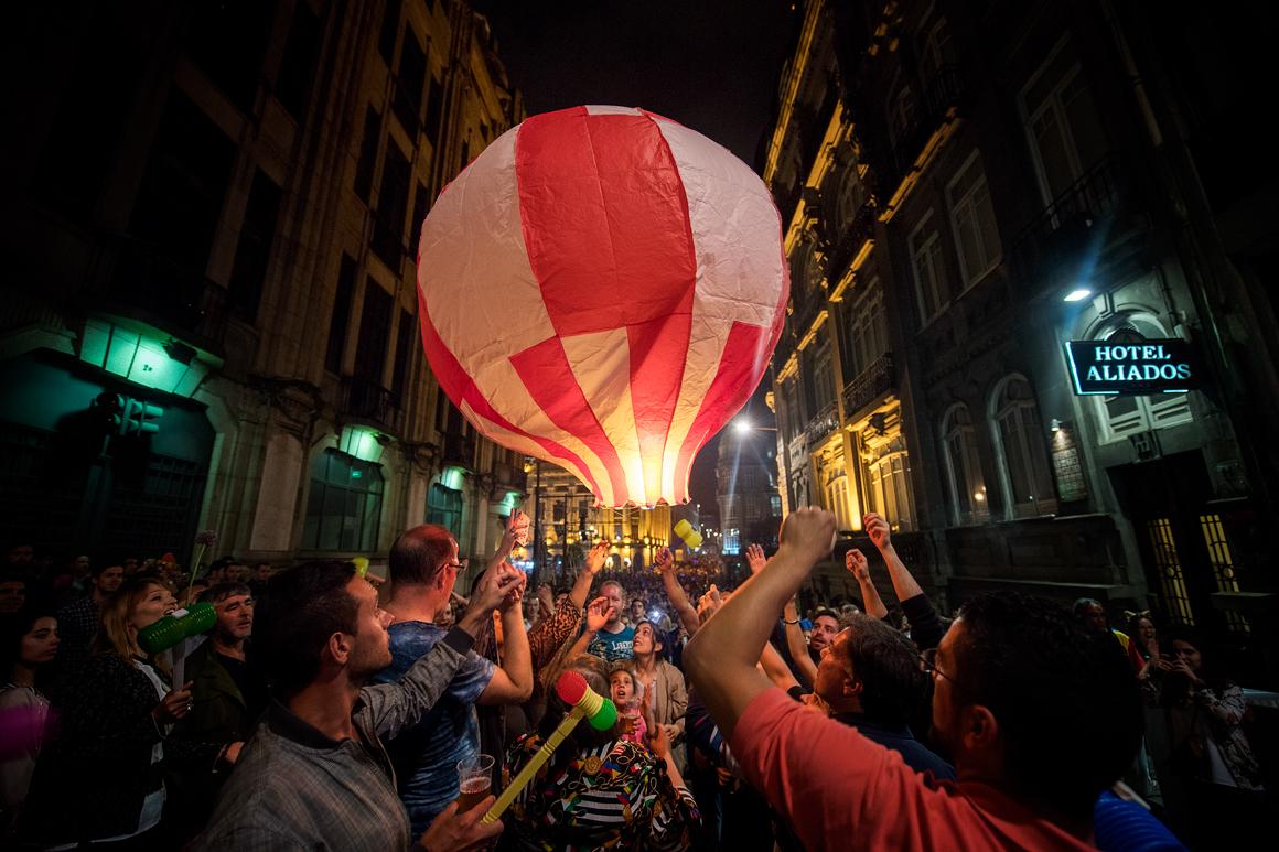 Governo proíbe lançamento de balões de São João