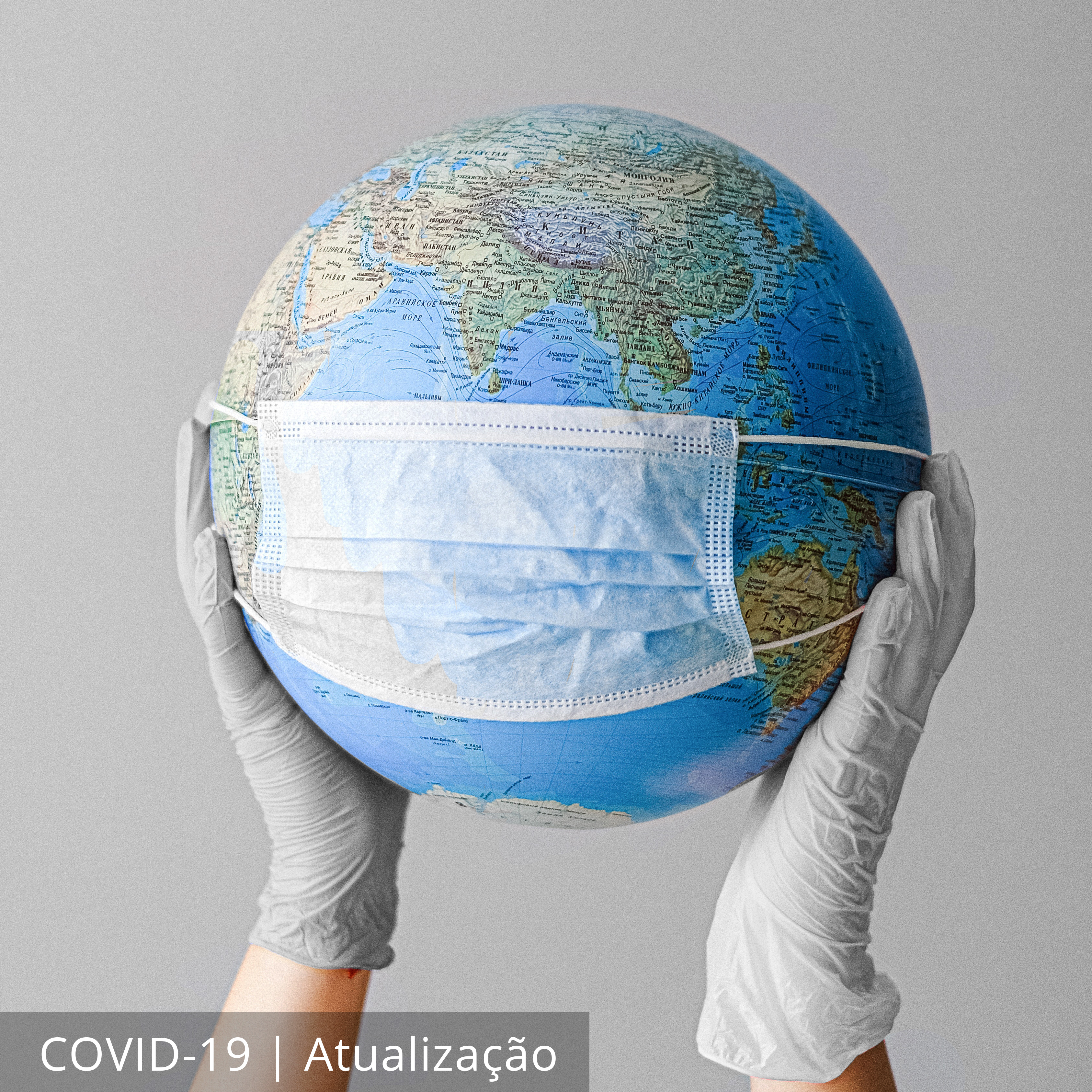 <b>ATUALIZAÇÃO</b> - COVID-19